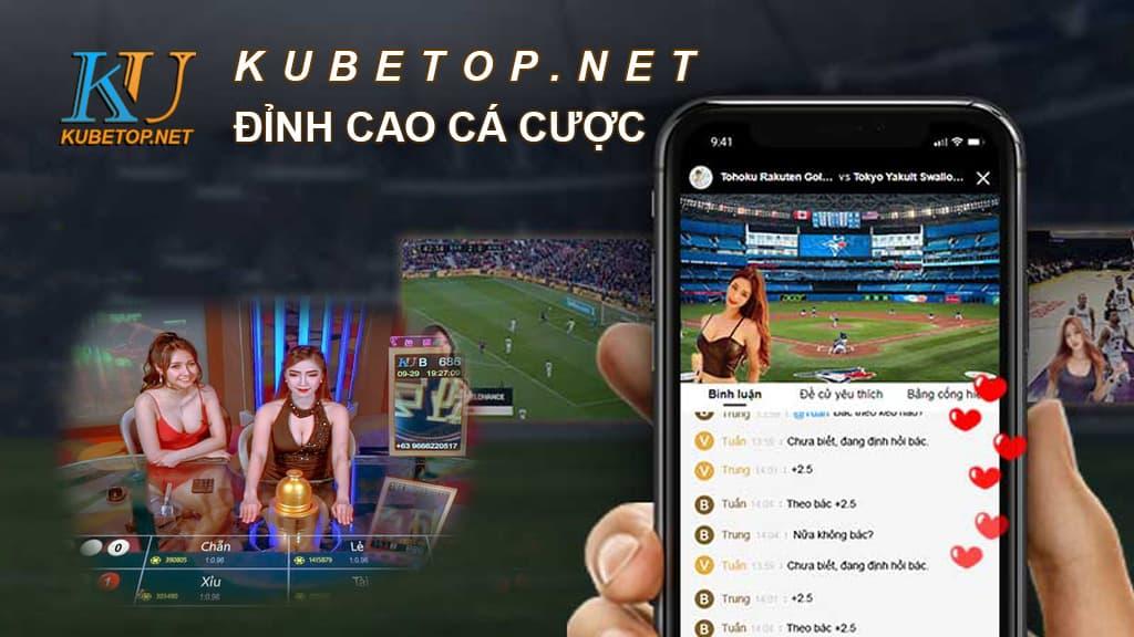 Banner trang chủ Kubet Top